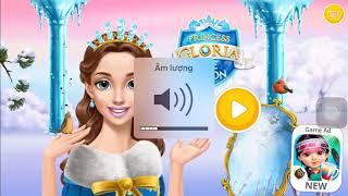 Princess Gloria Ice Salon - Fun Baby Care Game - Learn Colors