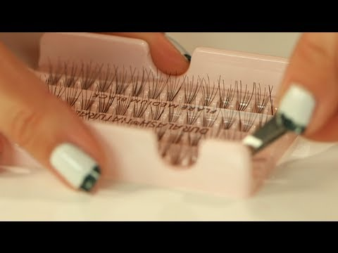 how to apply false lashes eyelash tutorial bella how to