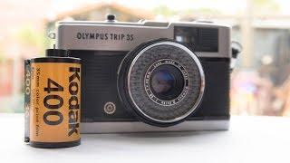 Olympus Trip 35 | Street Photography