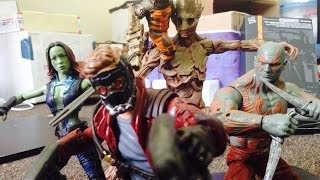 Guardians of the Galaxy Stop Motion- Guardians of the Galaxy vs Terrax
