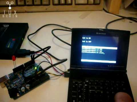 Arduino+NanoNote serial communication demo
