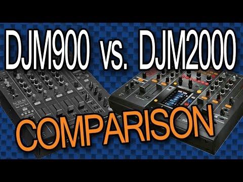 DJM2000 Vs. DJM900: Tabletop Comparison