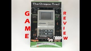 The Oregon Trail Handheld Video Game Review - 80's Nostalgia