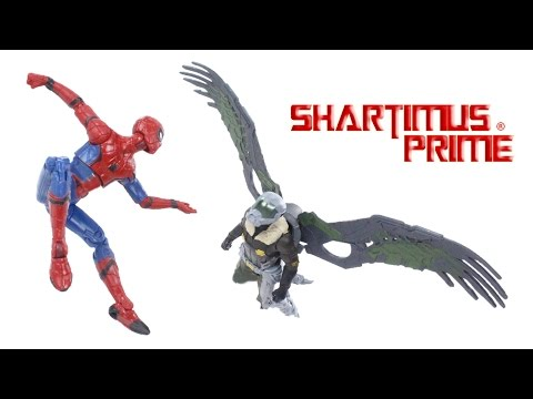 Marvel Universe Spider Man Vulture 2 Pack 3.75 Inch Homecoming Movie Action Figure Toy Review thumbnail