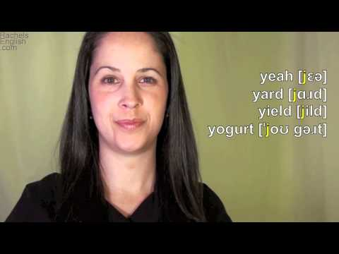English: How to Pronounce the  Y [j] consonant: American Accent