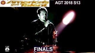 "Michael Ketterer ""Ain't No Mountain High Enough"" SIMON CRIES    America's Got Talent 2018 Finale AGT"