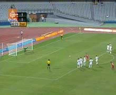 Most Strange Penalty Kick Ever !