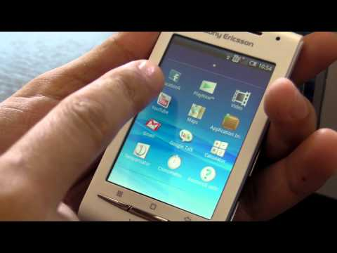 Sony Ericsson E15i XPERIA X8 review HD ( in romana ) - www