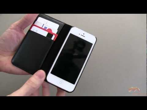 Spigen SGP Snap Leather Wallet iPhone 5 Case Review