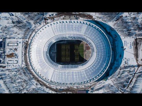 Newscopter.pro - Стадион Лужники (весна 2017). 4K Inspire 2 Prores 422 HQ