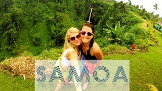 Backpacking SAMOA (South Pacific) | Best experience in my life!!