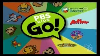 PBS Kids GO! Spinner Bumper Compilation
