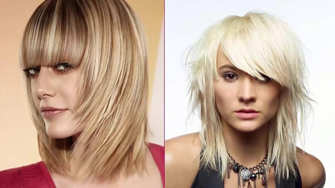 Женские стрижки для средних волос 2018