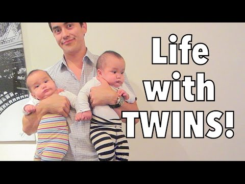Life with 6 month old TWINS! - September 11, 2014 - itsJudysLife Daily Vlog