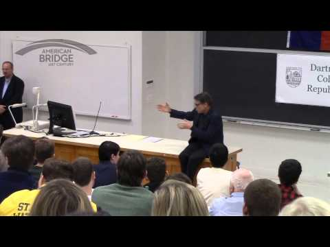 Rick Perry on Entitlements - Dartmouth College - 11-09-14