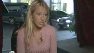 Ksenia Sobchak NTV part 1