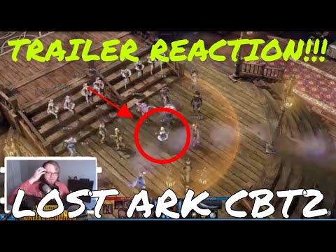 LOST ARK CBT2 TRAILER REACTION