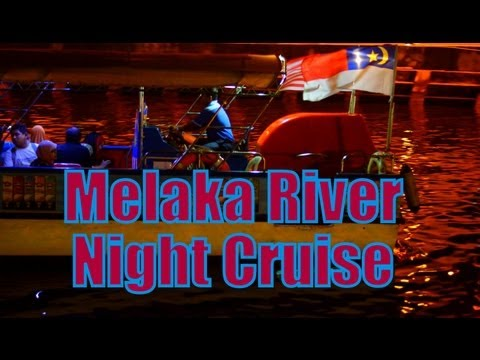 Melaka River Night Cruise (Boat Tour Along the Malacca River) in Malacca, Malaysia