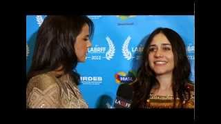 2 Coelhos - Alessandra Negrini no Red Carpet - LABRFF 2012.