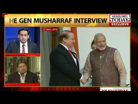 Musharraf: Modi can't dictate terms to Pakistan