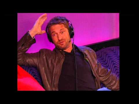 Actor Gerard Butler and Howard Stern penis talk - why circumcision is wrong !