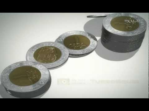 Egyptian Pound (Coin)-3D