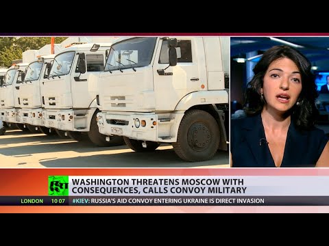 Potato Invasion: US says military motive in Russian aid, empty trucks return home