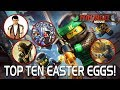 Download LEGO Ninjago Movie - Top 10 Movie Easter Eggs! in Mp3, Mp4 and 3GP