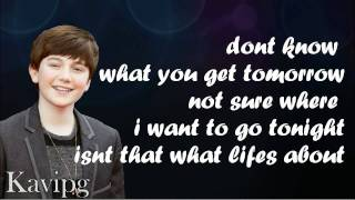 Watch Greyson Chance Take A Look At Me Now video