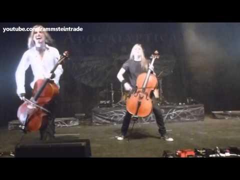 Apocalyptica en Uruguay 2012 // Full Concierto