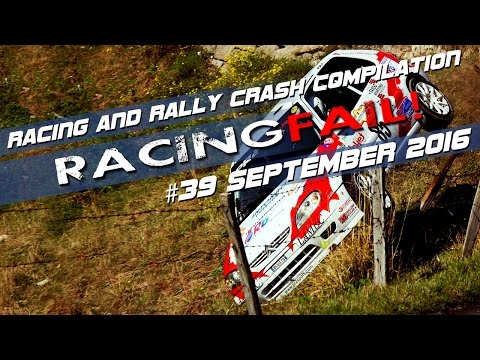 Racing and Rally Crash Compilation Week 39 September 2016