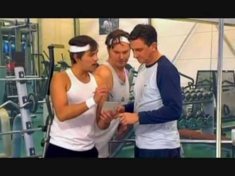Borut Pahor - fitness 16. 03. 2008