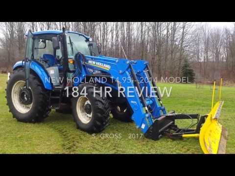 New Holland T4.95 Updated Review - 184 hrs - Watch before you buy!