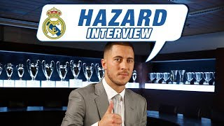 "Eden Hazard EXCLUSIVE interview: ""This white shirt means a lot to me."" HD"