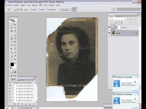 Tutoriales Photoshop : Retocar Defectos