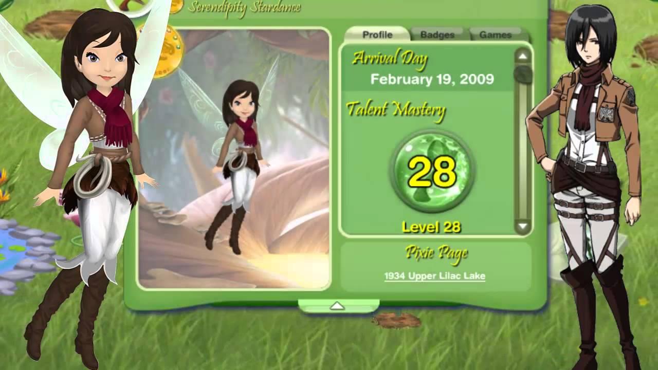 Pixie hollow i 39 m mikasa ackerman youtube for Mikasa es su casa
