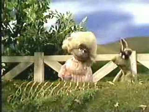 Sesame Street - Polly Darton and Benny Rabbit Video