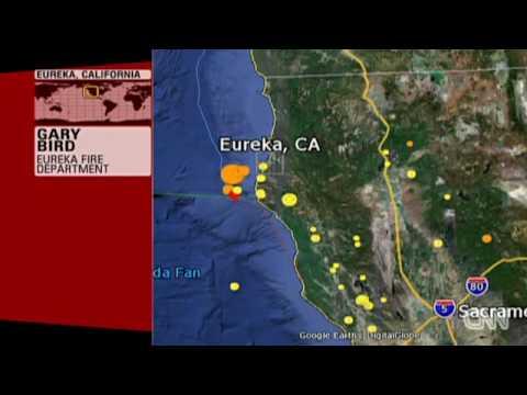eureka earthquake northern California 2010 humboldt earthquake