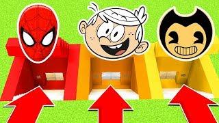 DO NOT CHOOSE THE WRONG SECRET BASE (Spiderman,LoudHouse,Bendy) (Ps3/Xbox360/PS4/XboxOne/PE/MCPE)