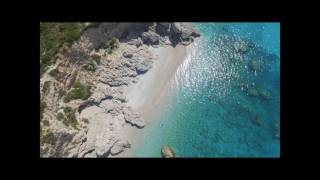 Albania 2017 - Dhërmi, first day.  Best Drone Video of Albania.