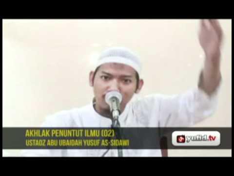 Pengajian Agama Islam Bahasa Indonesia: AKHLAK PENUNTUT ILMU (02)