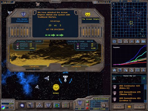 Overview - Sci-Fi Turn Based Strategy Games 2000-2009