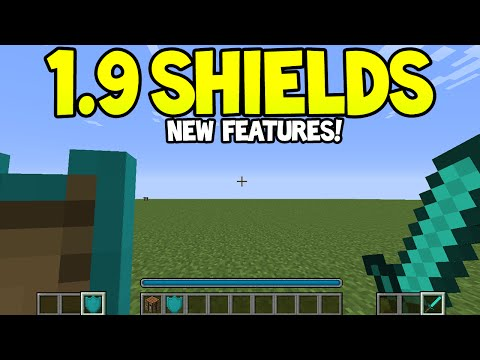Minecraft 1.9 Update! - SHIELDS! + Combat Features + More Discussion!