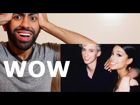 TROYE SIVAN FT. ARIANA GRANDE - DANCE TO THIS (REACTION)