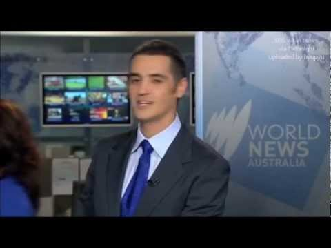 SBS World News Australia Blooper Rehearsal accidentally broadcast Live on TV