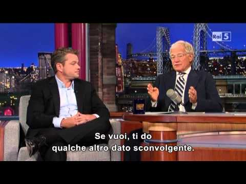 Matt Damon al David Letterman 31-07-2013 (sub ita) Part 2