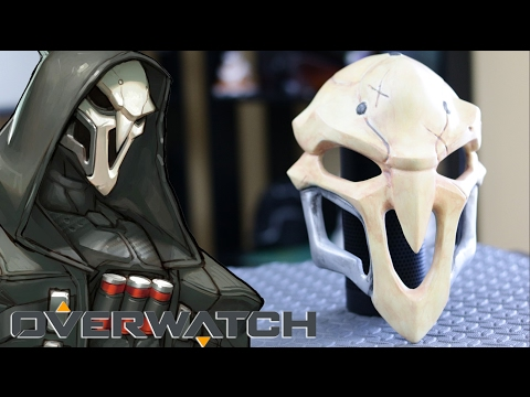 3D Printed OVERWATCH REAPER Mask From Start to Finish - How To Make