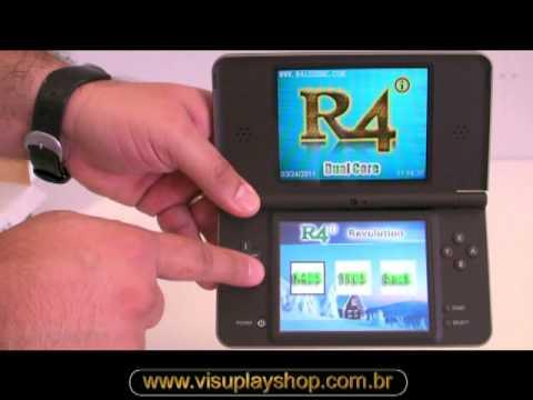 Nintendo DSi XL com R4 Revolution