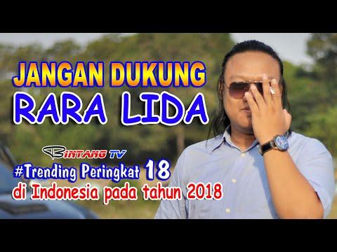 jangan dukung Rara di Liga Dangdut Indosiar, dia tak pantas jadi artis.