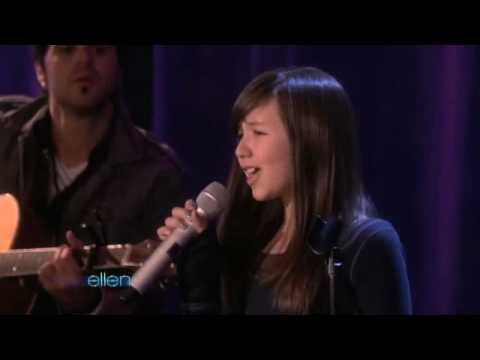 Amazing 11 Year Old Singer Maddi Jane On Ellen Degeneres Show video